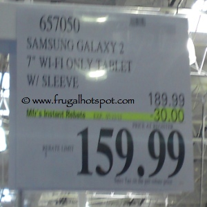 Samsung Galaxy Tab 2 Costco Price
