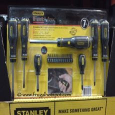 Stanley Fatmax 7-Piece Screwdriver Set Costco