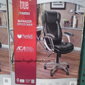 Costco Sale: True Innovations Manager Office Chair $79.99 | Frugal