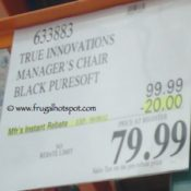 True Innovations Manager Office Chair Costco Price