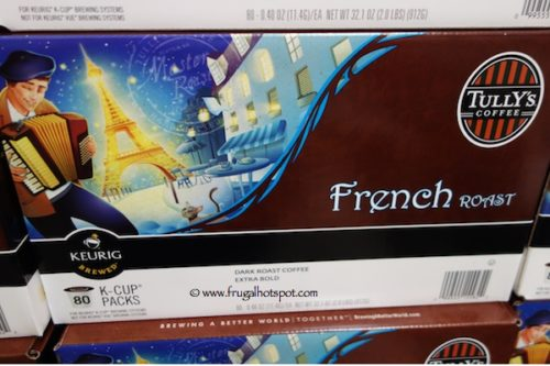 Tully's French Roast Coffee K-Cup Costco