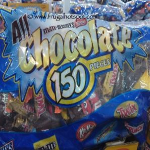 All Chocolate Bag (Hershey, Nestle, M&M) 150 Count (90 Ounce) Costco