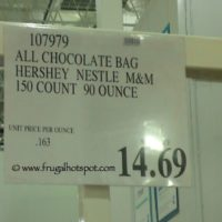All Chocolate Bag (Hershey, Nestle, M&M) 150 Count (90 Ounce) Costco Price