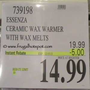 Essenza Ceramic Wax Warmer with Wax Melts Costco Price