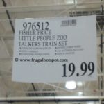 Fisher Price Little People Zoo Talkers Train Set Costco Price