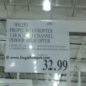 Propel Remote Control Gyropter 1:48 Scale Indoor Helicopter Costco Price