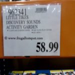 Little Tikes Discovery Sounds Activity Garden Costco Price
