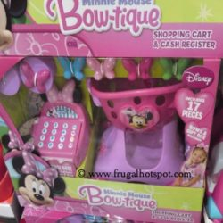 Minnie Mouse Bow-tique Shopping Cart & Cash Register Set at Costco