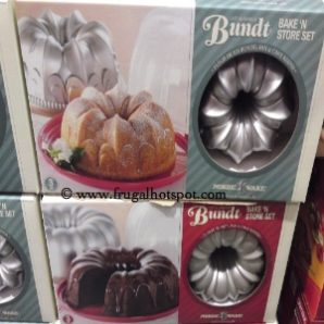Nordic Ware Bake 'N Store Set with Bundt Pan and Cake Keeper. Costco