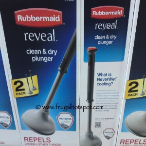 Costco Clearance Rubbermaid Reveal Clean Amp Dry Plunger 2