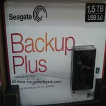 Seagate Backup Plus 1.5TB Portable Hard Drive Costco