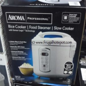 Aroma Digital Cool Touch 3 Quart Rice Cooker. Costco