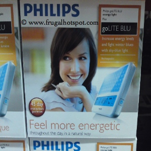 Philips goLITE BLU Energy Light Plus | Costco