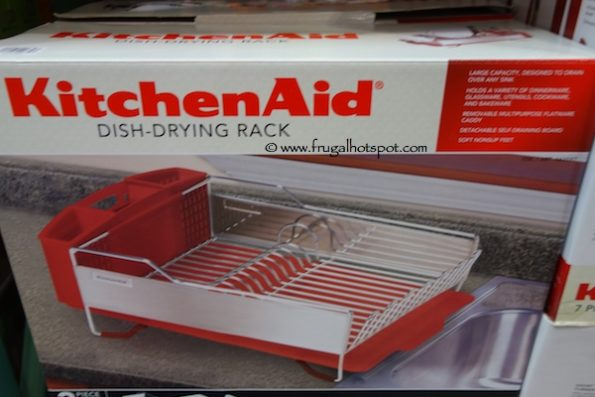 KitchenAid Stainless Steel Dish Rack at Costco
