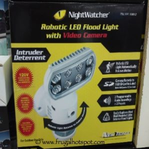 NightWatcher Robotic LED Flood Light with Video Camera. Costco