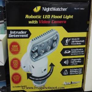 costco sale nightwatcher robotic led flood light with. Black Bedroom Furniture Sets. Home Design Ideas