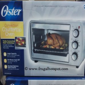 Oster Stainless Steel Convection Oven TSSTTVCG02. Costco