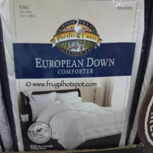 Costco Deal: Pacific Coast Feather Pyrenees Down Comforter