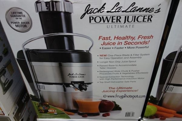 Jack LaLanne Power Juicer Costco