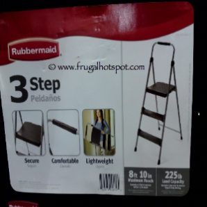 Costco Sale: Rubbermaid Lightweight 3 Step Stool $13.99