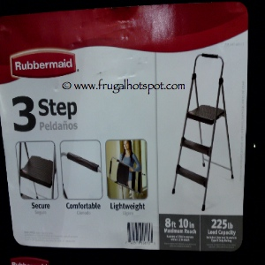 Costco ... & Costco Sale: Rubbermaid Lightweight 3 Step Stool $13.99 | Frugal ... islam-shia.org