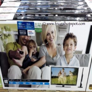 """Westinghouse 40"""" 1080p LED LCD HDTV. Costco"""