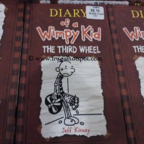 Diary of a Wimpy Kid The Third Wheel by Jeff Kinney. Costco