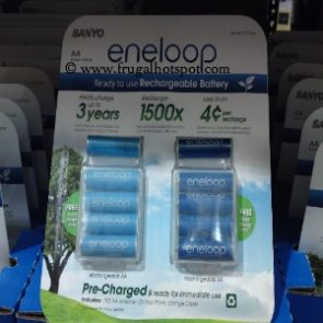 Eneloop AA Rechargeable Batteries at Costco