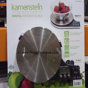 Kamenstein Staineless Steel Digital Food Scale Costco