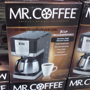 Mr Coffee 8 Cup Programmable Thermal Carafe Coffee maker at Costco