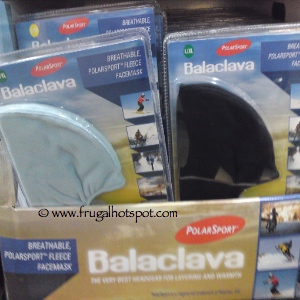 PolarSport Balaclava Fleece FaceMask Costco