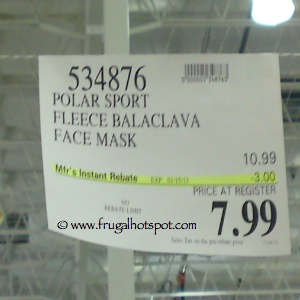 Polar Sport Balaclava Fleece Face Mask Costco Price