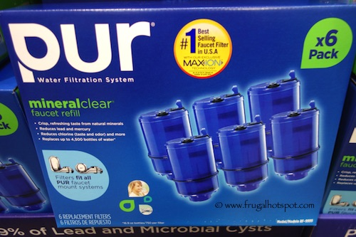 Costco Sale Pur 3 Stage Faucet Mount Filters 6 Pack