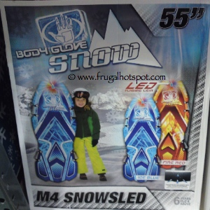 """Body Glove 55"""" Snow Sled with lights"""