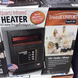 Trusted Comfort Quartz Infrared Heater by Eden Pure