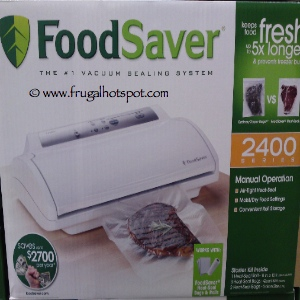 Foodsaver 2460 Vacuum Food Sealer | Costco