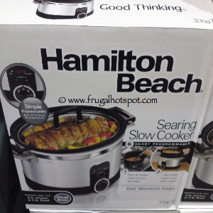 Hamilton Beach 6 Quart Programmable Searing Slow Cooker