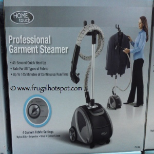 Home Touch Professional Garment Steamer | Costco