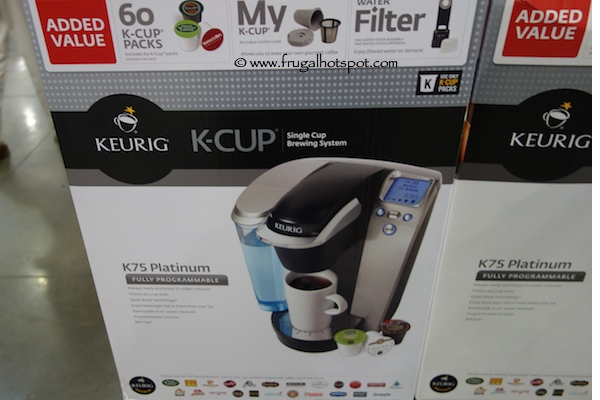 Keurig Single Serve K-Cup Brewing System
