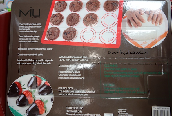 Miu Silicon Baking Liners 3 Pack Costco