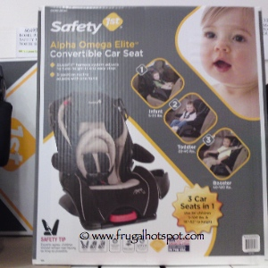 costco deal safety 1st alpha omega elite convertible car seat frugal hotspot. Black Bedroom Furniture Sets. Home Design Ideas