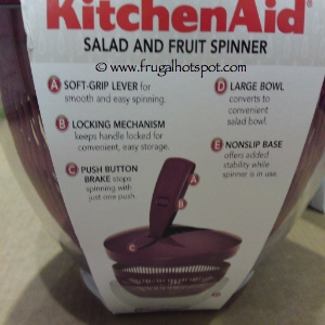 KitchenAid Salad Spinner | Costco