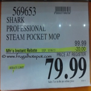 Shark Professional Steam Pocket Mop Costco Price