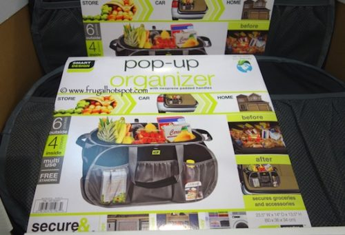 Smart Design Pop Up Organizer Tote Costco Frugal Hotspot