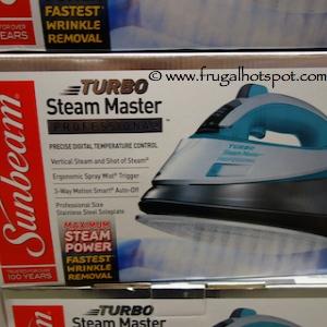 Sunbeam Turbo Steam Master Professional Iron | Costco