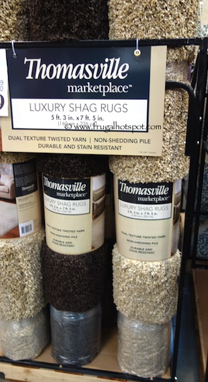 Thomasville Luxury Shag Rug Costco