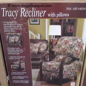 Synergy Tracy Recliner | Costco