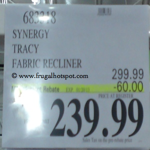Synergy Tracy Recliner | Costco Sale Price