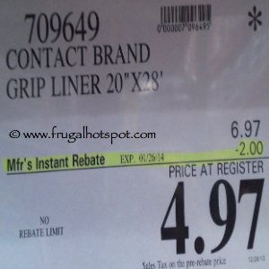 Contact Brand Grip Shelf Liner | Costco Sale Price
