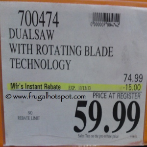 Dualsaw Destroyer | Costco Sale Price